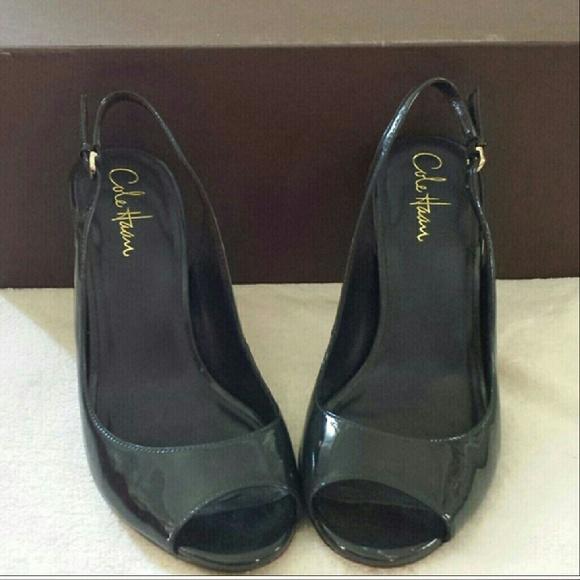 Cole Haan scarpe scarpe scarpe   Nike Air Sole Peep Toe Strappy Pumps   Poshmark ab8bfd